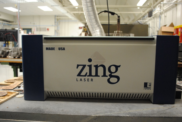 Innovation and additive manufacturing machine called Epilog Zing