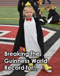 Breaking the World Record for Penguins