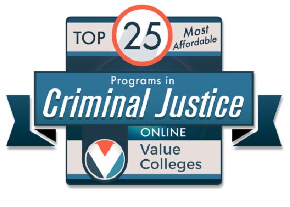 YSU's online Criminal Justice program named in top 25 of the most affordable.