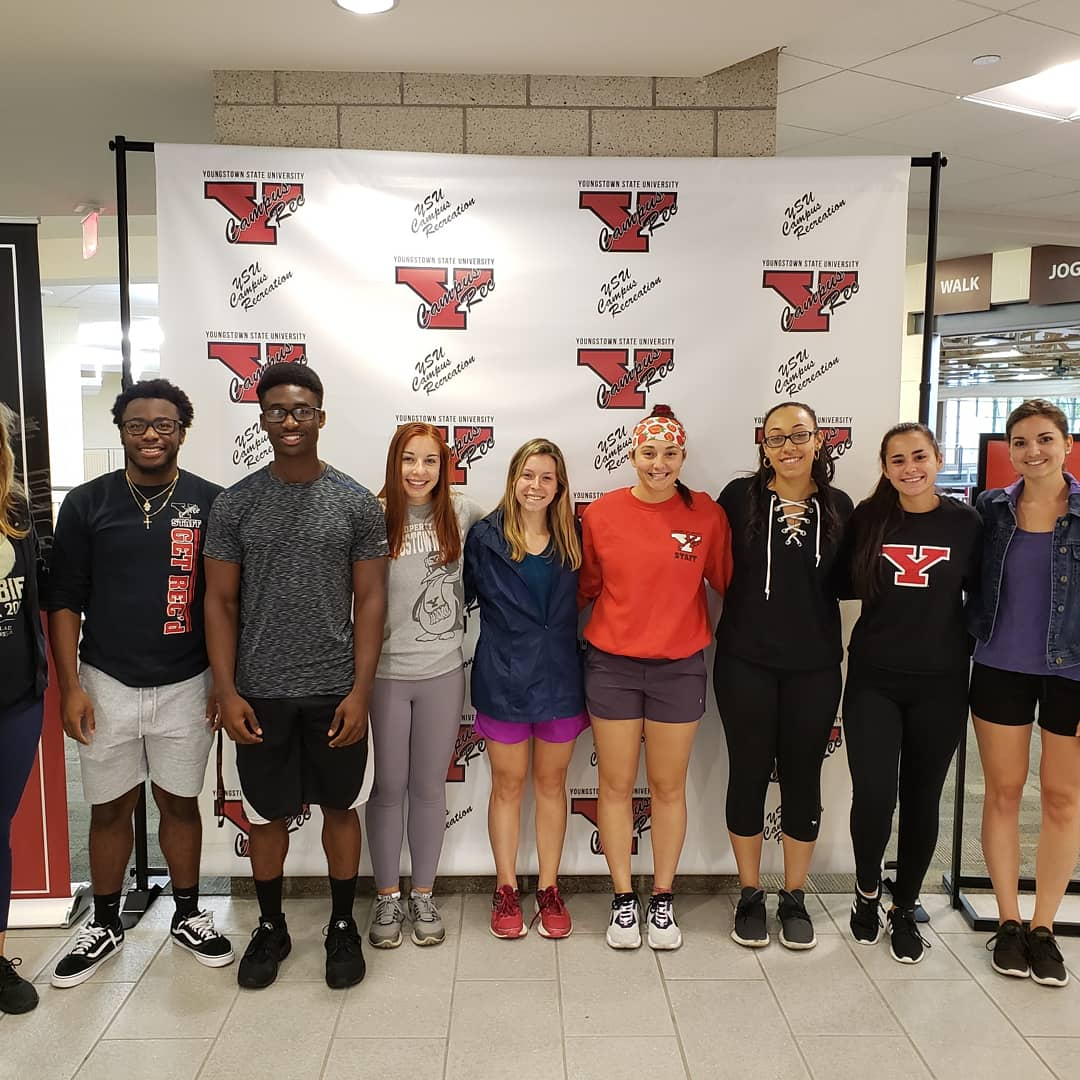 campus recreation and wellness student employees