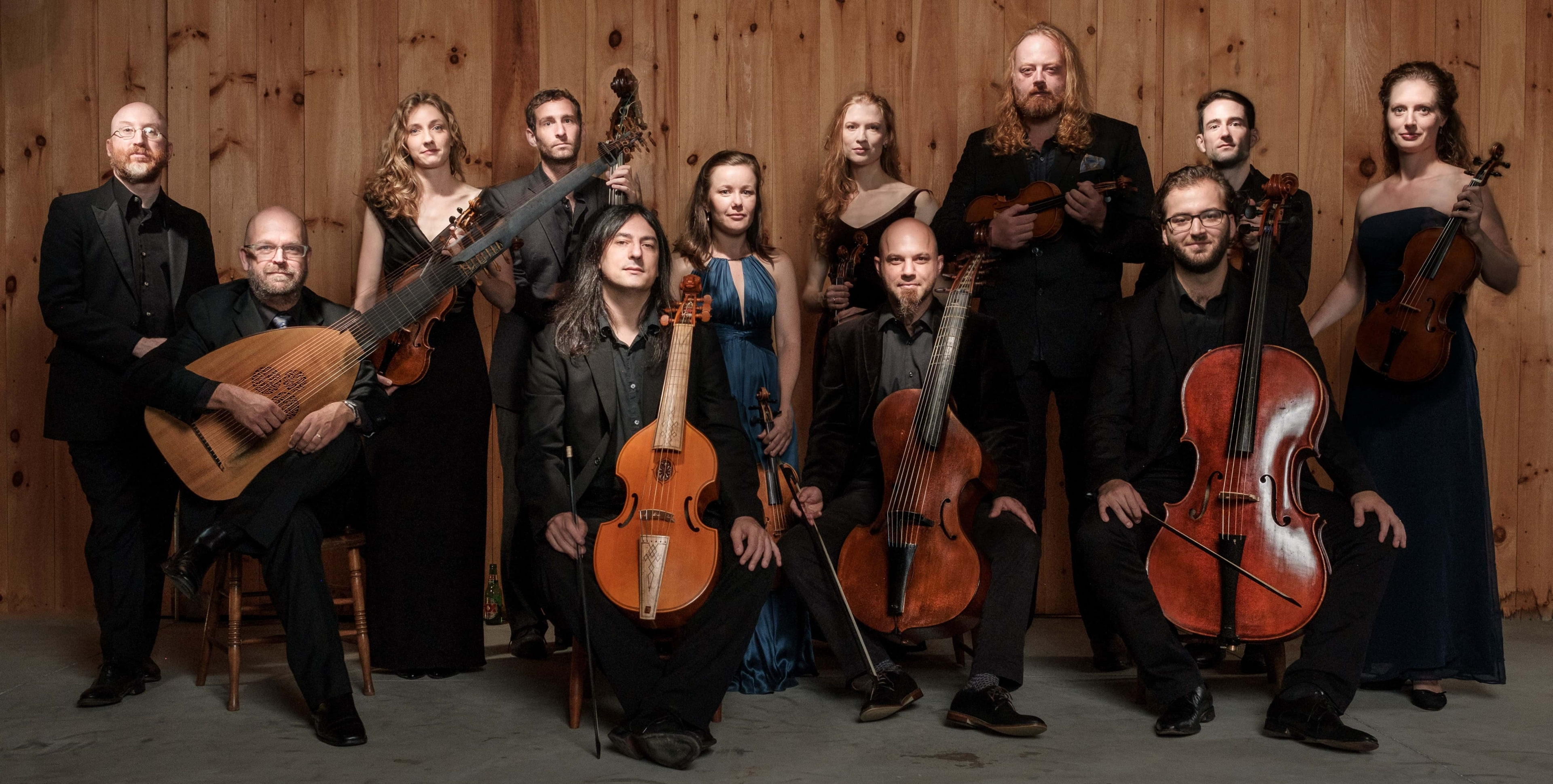 "Kivie Cahn-Lipman, assistant professor of Cello in the Dana School of Music, pictured fifth from the left, is the director of ACRONYM, a baroque ensemble founded in 2012 that made its European debut this past summer in the Netherlands at the Utrecht Early Music Festival. The group will record its 10th  album after performing at the ""Music Before 1800"" series in New York in October."