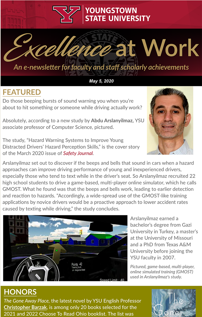 Thumbnail for Volume 2, Issue 3 of the Excellence at Work Newsletter