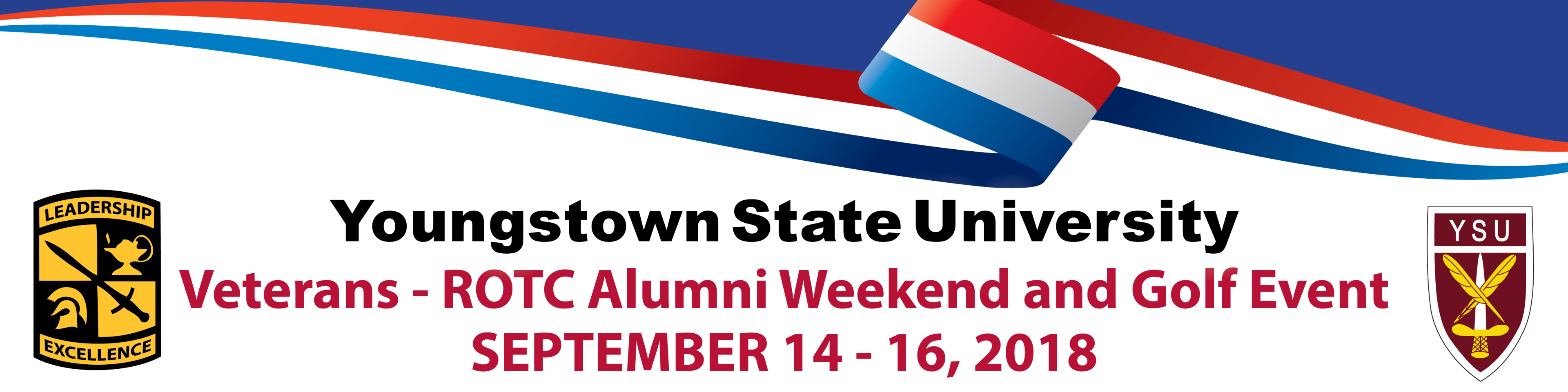 Youngstown State University Veterans - ROTC Alumni Weekend and Golf Outing Septmeber 14-16, 2018