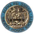 Alpha Psi Omega Emblem
