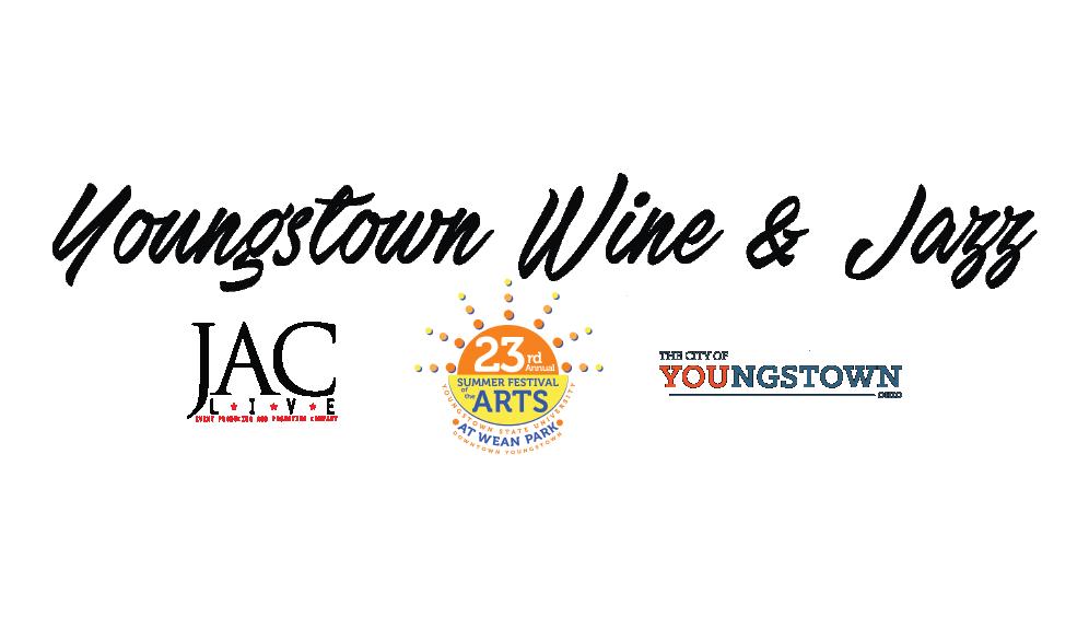 Youngstown Wine & Jazz logo
