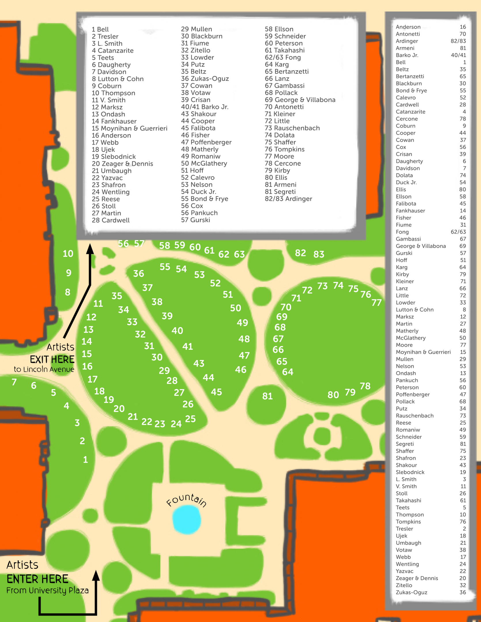 Summer Festival of the Arts Maps | YSU on miss valley state u campus map, youngstown airport map, youngstown state university parking, ysu campus map, pc campus map, asu campus map,