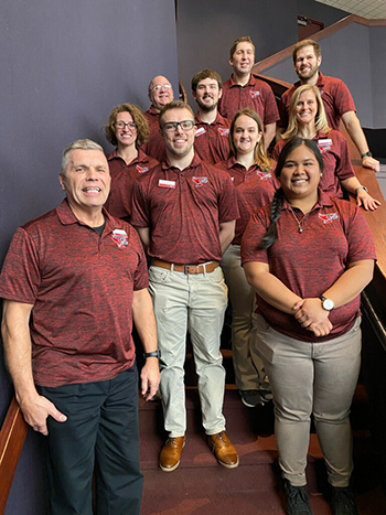 campus recreation and wellness administrative staff