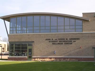 Andrews recreation and wellness center