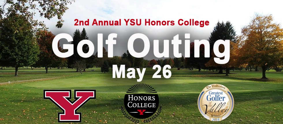 YSU Honors College Golf Outing 2018 Banner