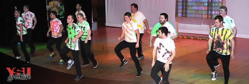 Sigma Tau Gamma at Greek Sing 2015