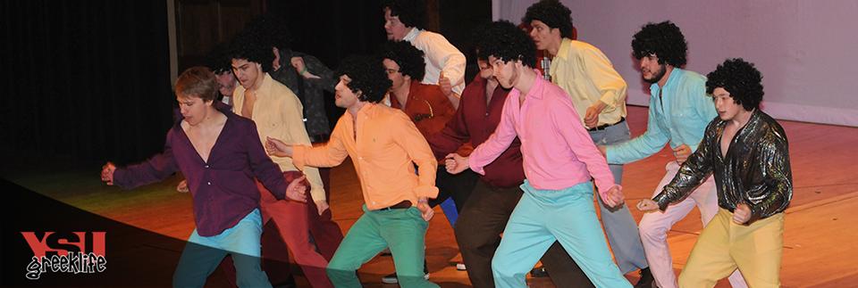 Alpha Phi Delta Fraternity at Greek Sing 2015