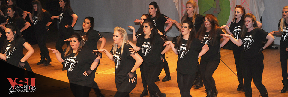 Delta Zeta at Greek Sing 2015