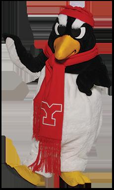 Pete the Penguin Mascot