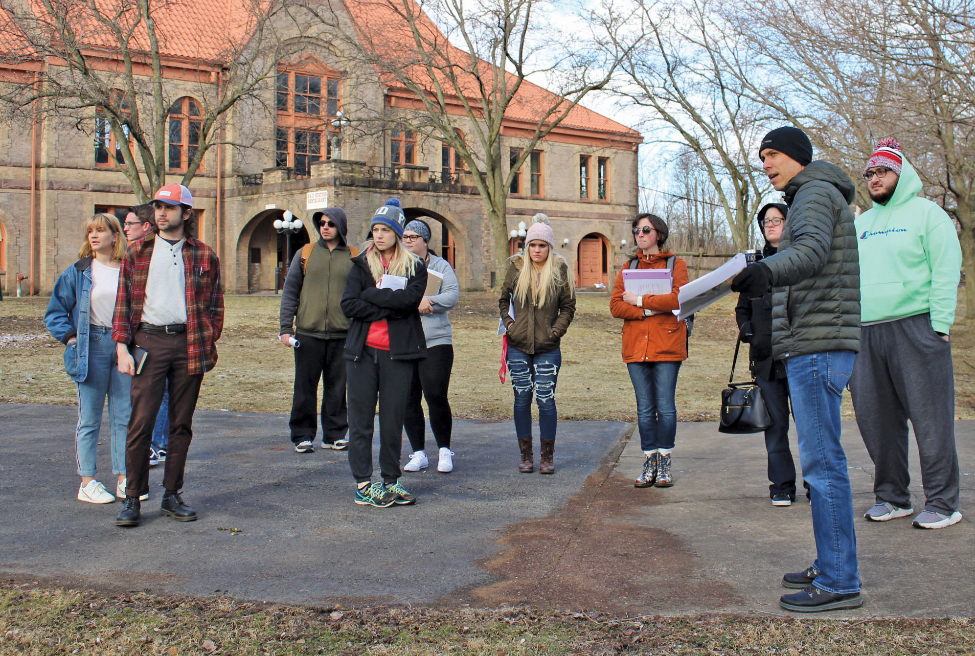 Students Community Leaders Walk Streets To Envision