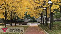 YSU Campus Fall Scenery
