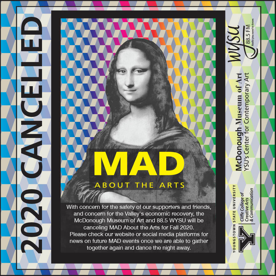 2020 Mad about the arts, canceled.