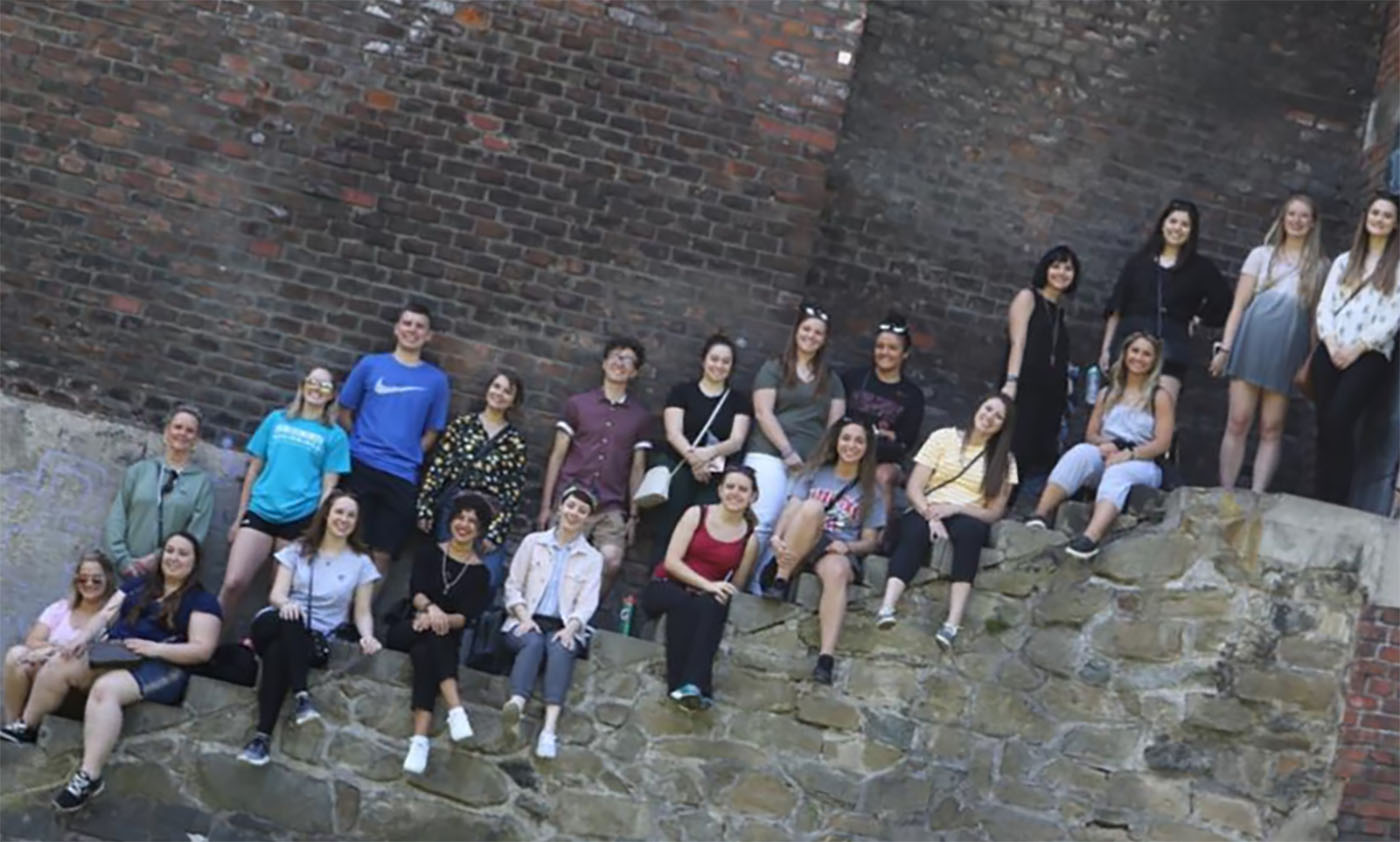 Education Students Visit Schools Historic Sights In Study