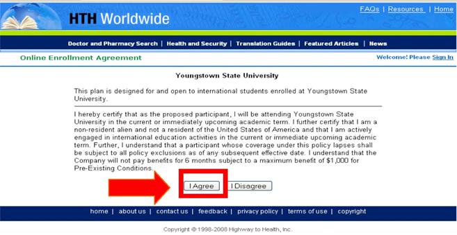 Study Abroad Student Health Insurance Enrollment Instruction Ysu
