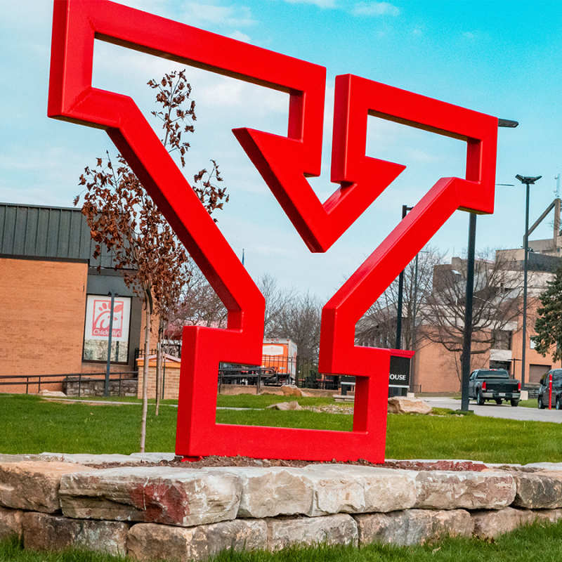 Y structure on campus