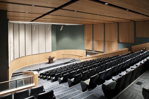 Williamson College of Business Auditorium