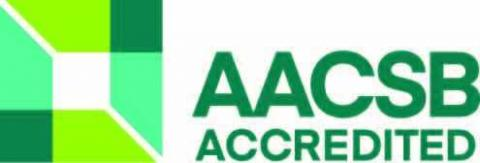 The AACSB accreditation logo