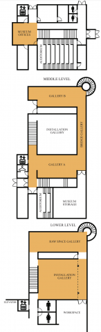McDonough Museum Floor Layout