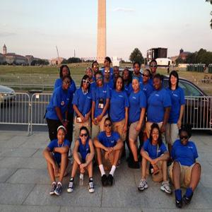 Group photo in Washington Summer Program 2013