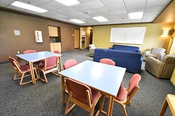 Cafaro House 8 Person Suite Common Area