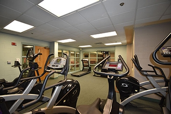 Cafaro House fitness area