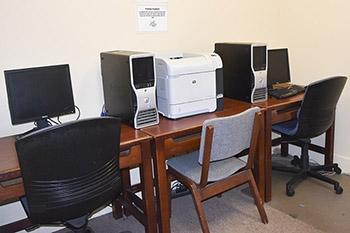 Wick House Computer Room