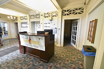 Wick House Front desk