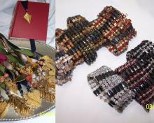 Pendants and jewelry created with beads