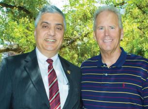 Chaouki Abdallah and Bob Davie