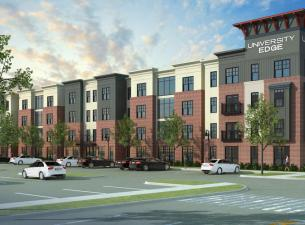 Rendering of YSU Apartments