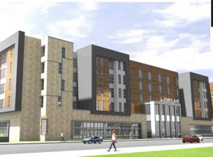 Rendering of Enclave Apartments
