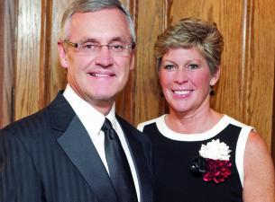Ellen and Jim Tressel