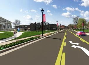 Rendering of Wick Ave