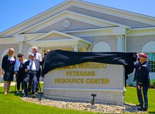 The Youngstown State University Veterans Resource Center on Wick Avenue was named in honor of Carl A