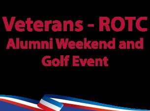 Veterans-ROTC Alumni Weekend logo thumbnail