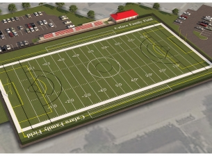 Rendering of the Cafaro Family Field