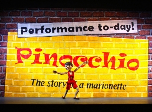 performance of Pinocchio by the National Marionette Theatre.