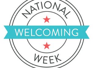 National Welcoming Week Logo