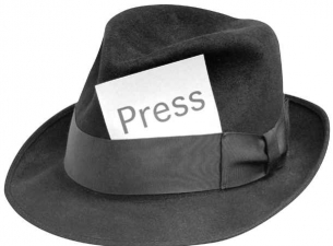 Graphic of Press Hat
