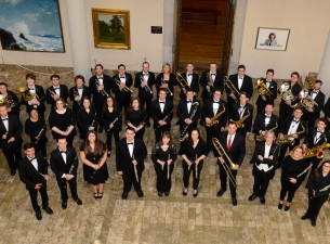 The Youngstown State University Wind Ensemble and the 2019 YSU High School Side-By-Side Honors Wind