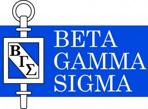Beta Gamma Sigma business honor society logo