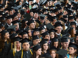 YSU students at Commencement