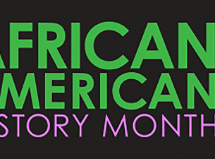 Graphic for African American History Month