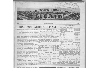 Youngstown Sheet and Tube Bulletin