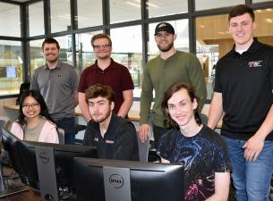 WCBA Student Investment Fund team members