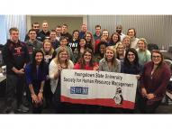 YSU's student chapter of the Society for Human Resource Management